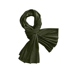 Soft and warm, lightweight Merino wool scarf.
