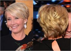 The Best Hairstyles for Women Over 50: Emma Thompson