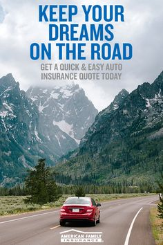 Don't your dreams deserve more than a car insurance card tucked in your glove box? We sure think so. That's why our car insurance goes beyond a piece of paper to give you smart, customized coverage and real peace of mind. Get a quick and easy quote today.