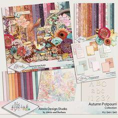 Autumn Potpourri - Collection  http://www.thedigichick.com/shop/Autumn-Potpourri-Collection.html