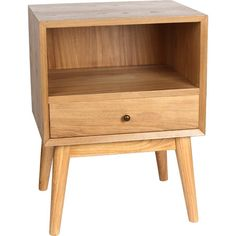 Jacobson End Table in Natural  at Joss and Main