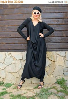 New in our shop! SALE Black Jersey Jumpsuit, Black Plus Size Jumpsuit, Plus Size Jumpsuit, Loose Jumpsuit TJ10 by TEYXO https://www.etsy.com/listing/244492146/sale-black-jersey-jumpsuit-black-plus?utm_campaign=crowdfire&utm_content=crowdfire&utm_medium=social&utm_source=pinterest