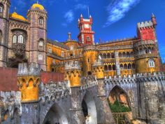 Pena National Palace (1839-1885), Sintra, Portugal: Architecture ...