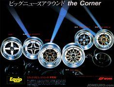 Work Equip Series Old School JDM Wheels