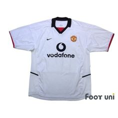 Manchester United 2002-2003 Away Shirt - Online Store From Footuni Japan #manchesterunited #manchesterunited2002 #manchesterunited2003 #manchesterunitedshirt #manchesterunitedjersey #vodafone #nike - Football Shirts,Soccer Jerseys,Vintage Classic Retro - Online Store From Footuni Japan #footuni #football #soccer #footballshirt #footballjersey #soccershirt #soccerjersey #jersey #vintage #vintageclothing #vintagejersey #vintagefootballshirt #classic #retro #old #fussball #collection #collector… Nike Football, Soccer Shirts, Football Jerseys, Manchester United Premier League, Manchester United Shirt, Vintage Football Shirts, Vintage Jerseys, Vintage Outfits, The Unit