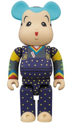 WHAT ABOUT WEDNESDAY FUKUSUKE X BE@RBRICK 400% FIGURE