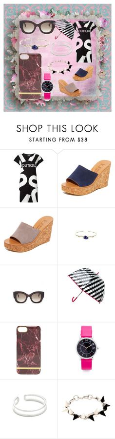 """Modalist Cash Back & Offers"" by justinallison ❤ liked on Polyvore featuring Boutique Moschino, K. Jacques, Linda Farrow, Kate Spade, Marc Jacobs, Maya Magal and Joomi Lim"