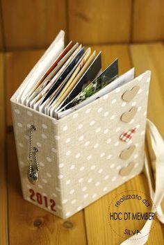 Hobby di Carta - Il blog: Mini album: i miei pelosi 2012 by Silva
