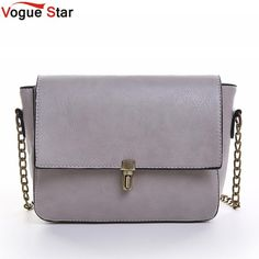 Women Designer chained Messenger Bags Leather Small Cross body Shoulder Bag 158294409be6d