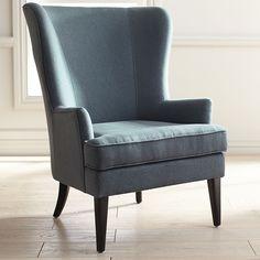 Asher Blue Armchair