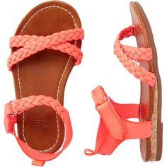 OshKosh Sandals OshKosh B'gosh ($20) ❤ liked on Polyvore featuring baby, kids, baby things and kids clothes