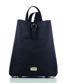 Backpack Black | Δερμάτινες Γυναικείες Τσάντες | Elena Athanasiou Exclusive Bags ®| Handmade Leather Bags