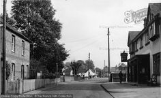 South Ockendon, West Road c.1955, from Francis Frith