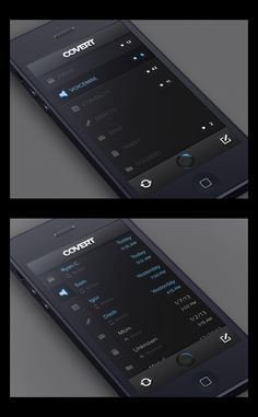 Covert - an App for Stealthy Communication by CreativeDash , via Behance *** Covert is an app for private communication. This is a preview of the UI, which is not yet final.