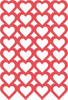 Free heart background cutting file, by Michelle #Silhouette #CutFile