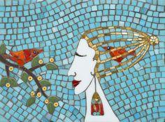 Two Birds by Irina Charny  www.icmosaics.com