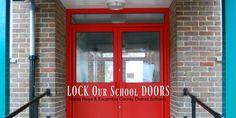 LOCK Our School DOORS