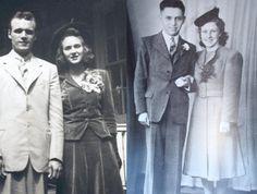 Wartime wedding suit wedding dressses, vintage weddings, vintage wedding dresses, suit, wedding dress styles, wartim