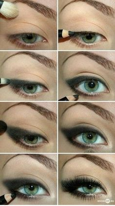 I love this because it's simple but i love the smoky eye