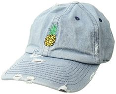 879f552cf96 KBETHOS Pineapple Taco + Beer Dad Hat Baseball Cap Polo Style Unconstructed