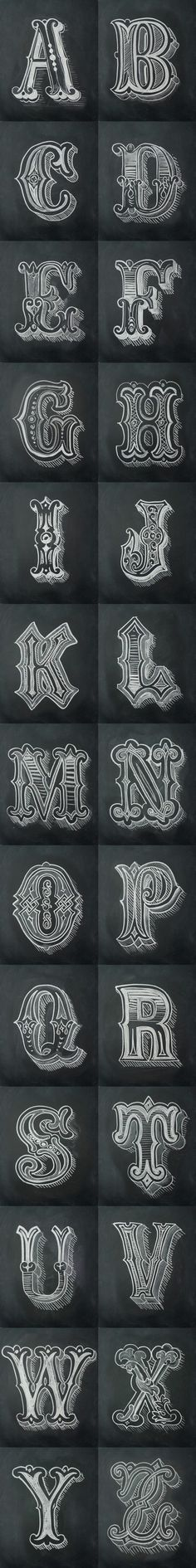 Chalk Alphabet by Antonio Rodrigues Jr. - a grouped images picture - Pin Them. - # Chalk Alphabet by Antonio Rodrigues Jr. - a grouped images picture - Pin Them. Calligraphy Letters, Typography Letters, Typography Design, Typography Poster, Learn Calligraphy, Fancy Lettering Alphabet, Typography Alphabet, Inspiration Typographie, Typography Served