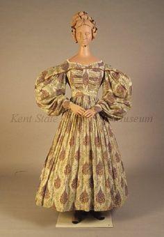 Day dress, 1830's US, Kent State