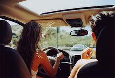 long car rides to the beach
