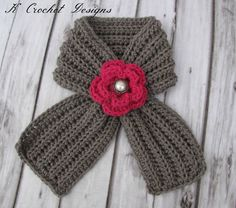 Gotta get this for my baby girl.Crochet toddler scarfribbed scarf with by KCrochetdesigns on Etsy