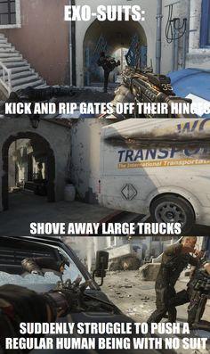 #CallofDuty Advanced Warfare Logic
