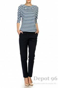Bluza in stil marinaresc 3207