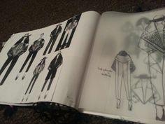 Fashion Sketchbook by Svitlana Andriyets