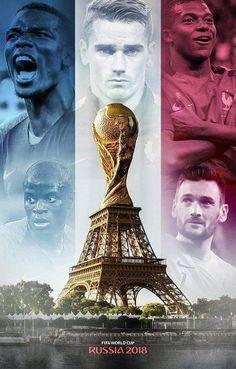 Rusia 2018 best of FIFA world Cup mens soccer teams Football 2018, World Football, Football Soccer, Neymar, Paul Pogba, France World Cup 2018, France National Football Team, Soccer News, Antoine Griezmann