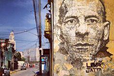 Street art zonder ook maar een druppel verf