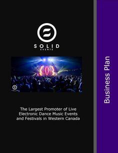 EDM Electronic Dance Music Business Plan