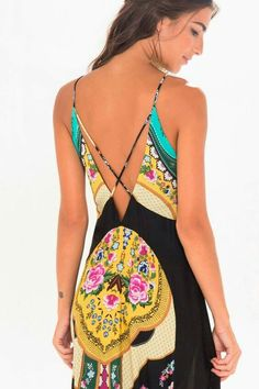 where to find this? Colorful Fashion, Boho Fashion, Fashion Dresses, Womens Fashion, Beautiful Outfits, Cool Outfits, Casual Dresses, Summer Dresses, Summer Wear