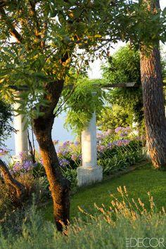 Island Of Capri Home Tour - Inside A Villa In Capri - ELLE DECOR