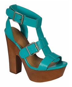 Another great find on #zulily! Aqua Renee Sandal #zulilyfinds