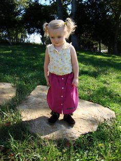 Toddler Skirt/ Pink Plaid Upcycled Toddler by RebirthRecycling, $20.00