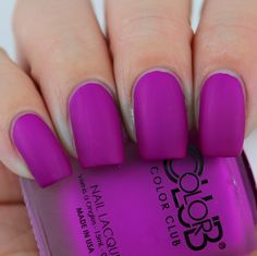 Color Club Play Date swatched by Olivia Jade Nails Jade Nails, Olivia Jade, Color Club, Nail Colors, Colours, Swatch, Nail Polish, Pop, How To Make