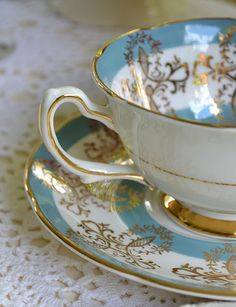 Artful Affirmations: Royal Grafton Tea Cup and saucer