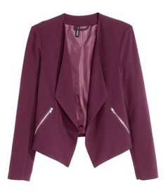 crepe jacket. h and m.