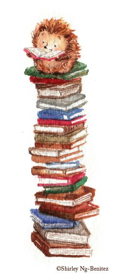 books, books, books..they take you to new heights!