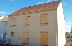 La #maison de Rose et David en Seine et Marne - modèle GRAND NACRE de la gamme HOME CHRYSALIDE #House #MaisonsPierre #Maison