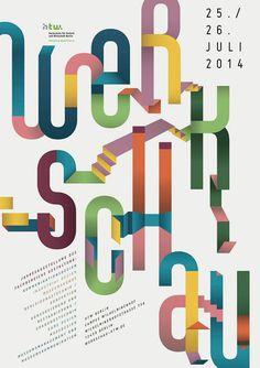 Werkschau 2014 – Fachbereich Gestaltung der Hochschule für Technik und Wirtschaft (HTW Berlin | Slanted - Typo Weblog und Magazin