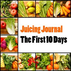 My first 10 days of juicing in a nutshell. 10 recipes and some nuggets of information that will help juicing newbies to get a jump start in their juicing journey.