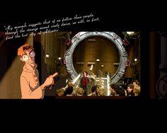 stargate crossover   Stargate Atlantis, Stargate SG1  Stargate Universe Wallpapers ...