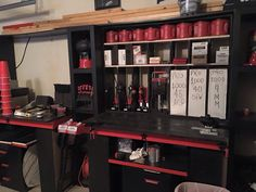 Reloading bench from facebook post Reloading Room, Gun Rooms, Fire Powers, Shooting Range, Barndominium, Man Cave, Liquor Cabinet, Archery Targets, Archery Hunting
