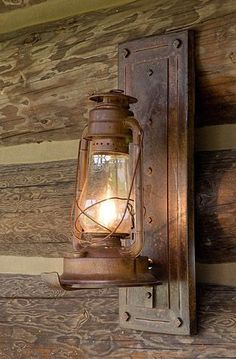 DIY Country Light Fixtures | Lighting Strategy from the Log Homes Council