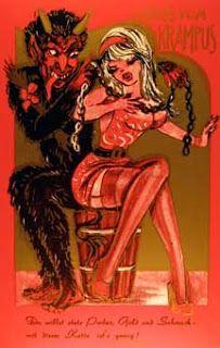 art of the beautiful-grotesque: Gruss vom Krampus II