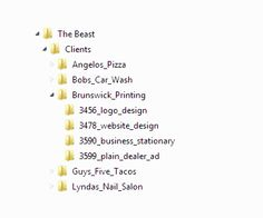 Great file organization and project naming system tips. Via #GoMedia